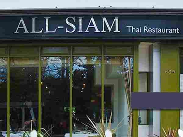 All Siam Thai Sheffield, Ecclesall Road