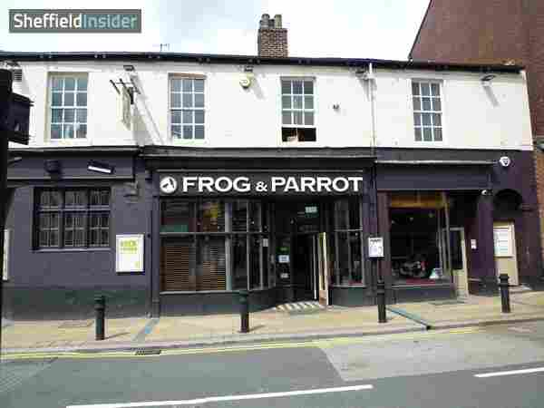Frog & Parrot Sheffield, City Centre Division Street