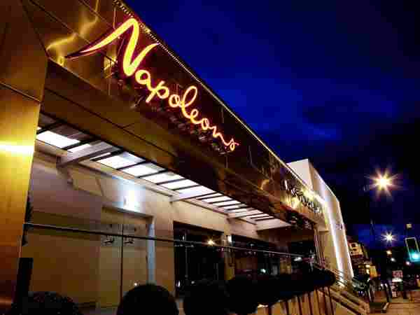 Napoleons Casino & Restaurant Sheffield, Ecclesall Road