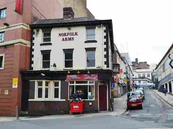 Norfolk Arms Sheffield, City Centre