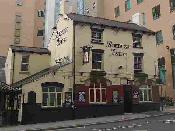 The Roebuck Tavern Sheffield, City Centre