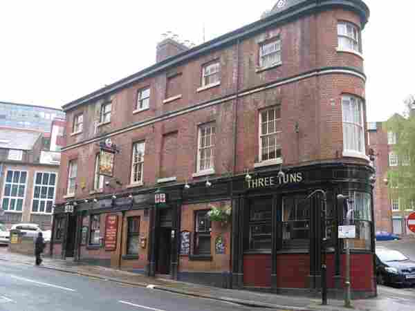 The Three Tuns Sheffield, City Centre