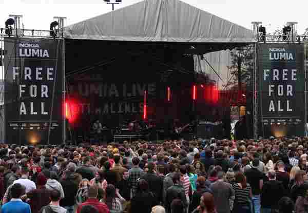 Tramlines Main Stage Sheffield, City Centre