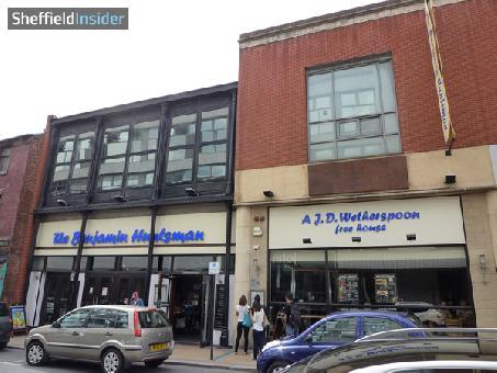 Benjamin Huntsman Sheffield, City Centre