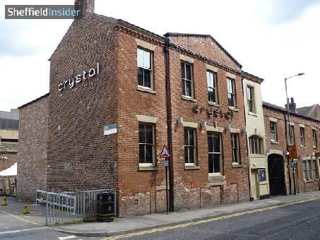 Crystal Bar Sheffield, City Centre