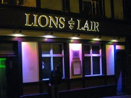 Lions Lair Sheffield, City Centre